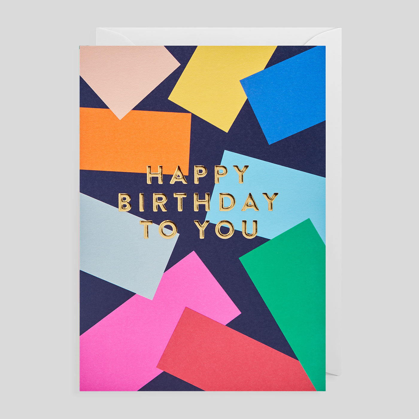Postco for Lagom - Happy Birthday Confetti Card - Colours May Vary