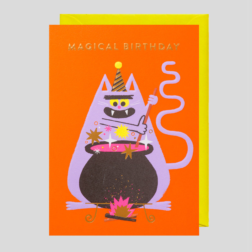 Rob Hodgson for Lagom  - Magical Birthday Card