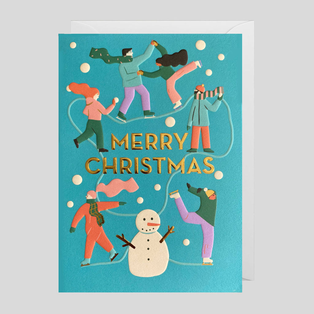 Naomi Wilkinson for Lagom  - Merry Christmas Card | Colours May Vary