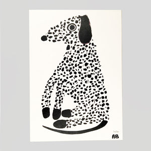 Dalmatian by Alice Bowsher for Year Of The Dog