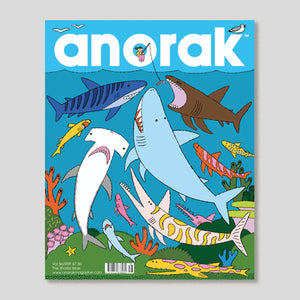 Anorak Vol.56 | The Sharks Issue | Colours May Vary