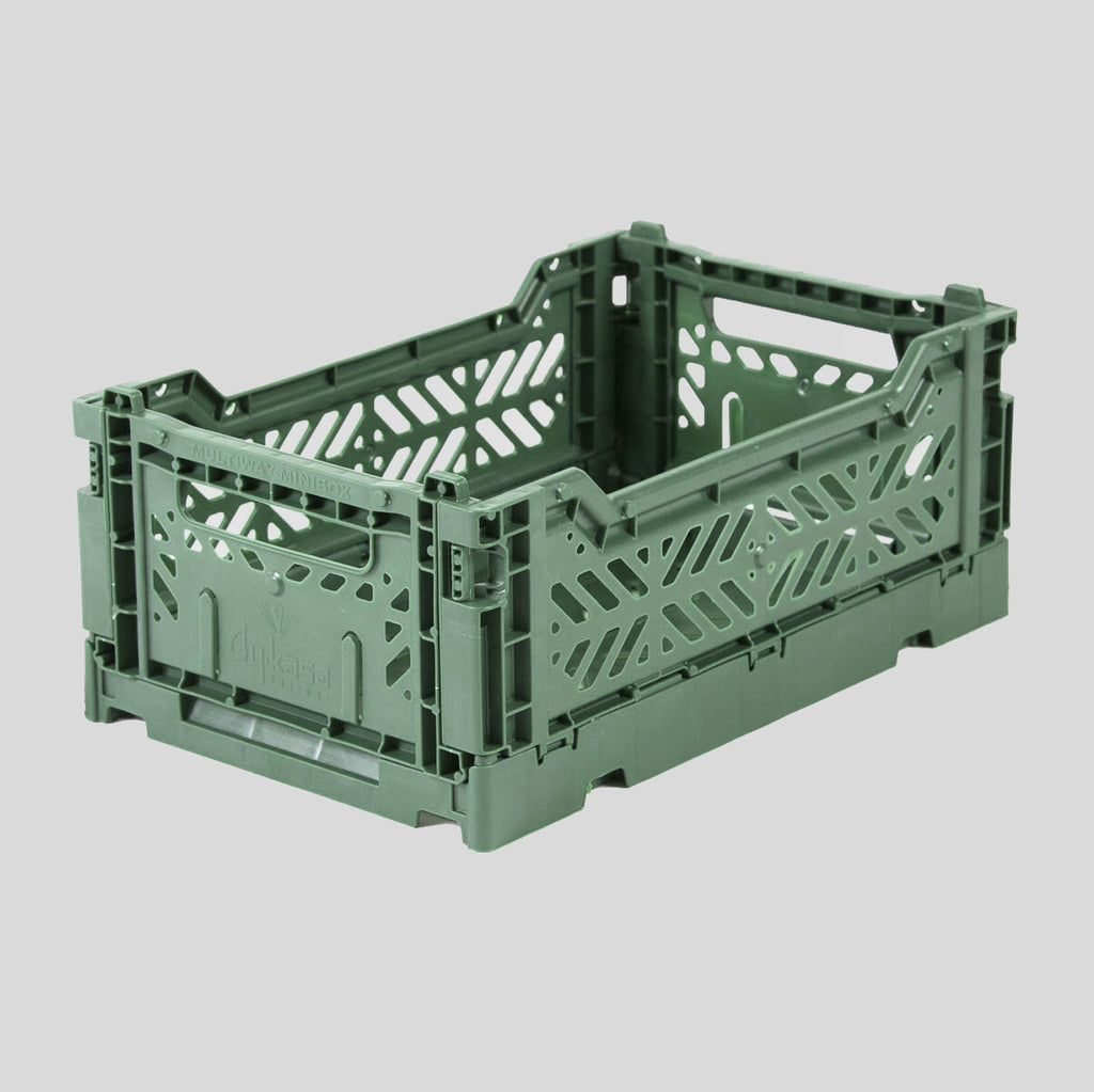Aykasa | Mini Crate | Almond Green - Colours May Vary