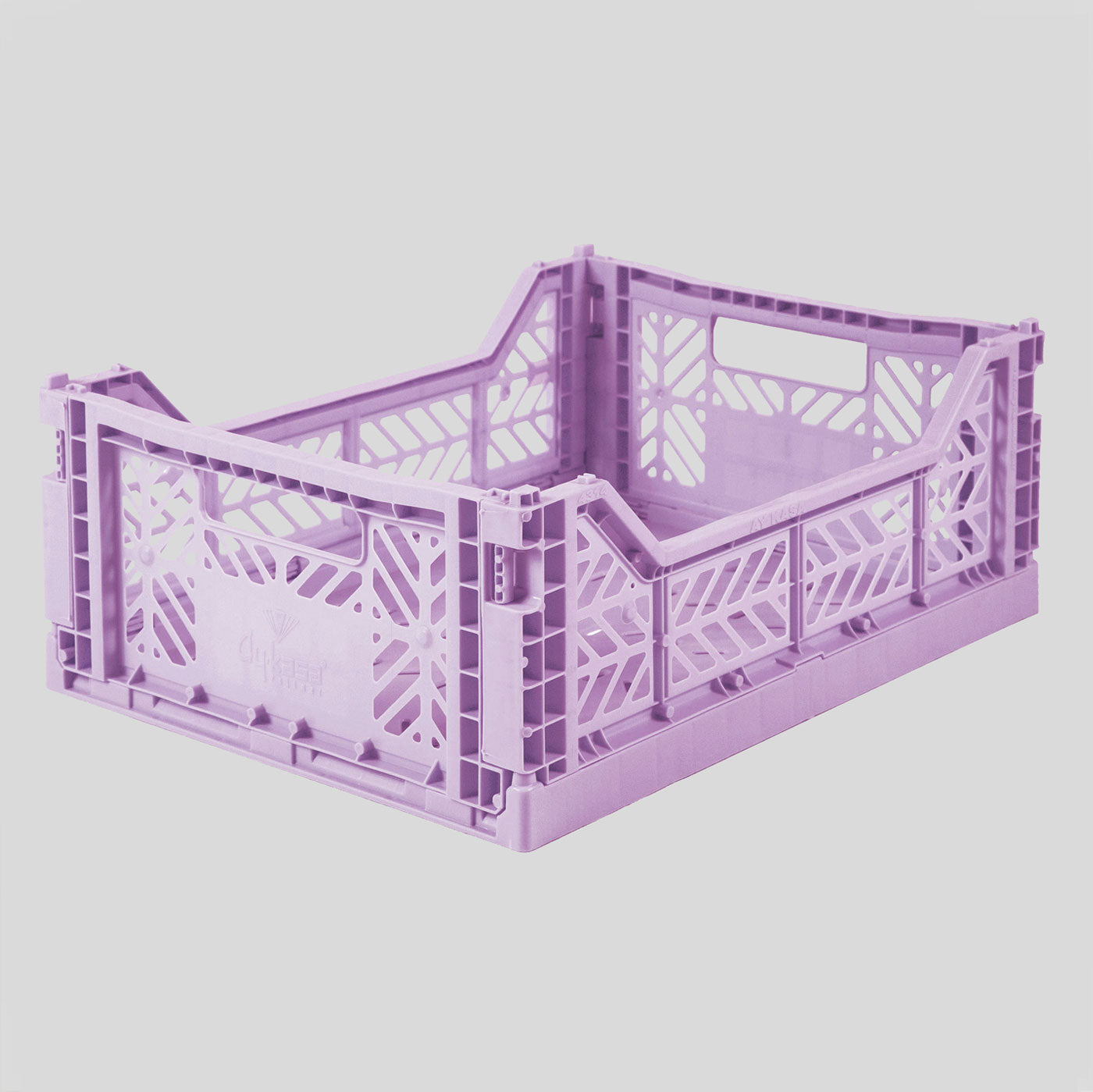 Aykasa | Midi Crate | Orchid | Colours May Vary