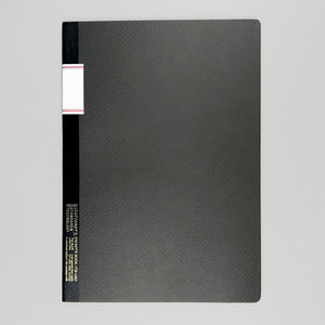 STALOGY 016 VINTAGE NOTEBOOK - BLACK.
