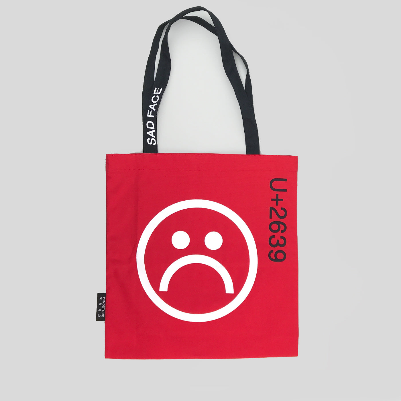Studio Build x TOPYS Happy Face/Sad FaceTote