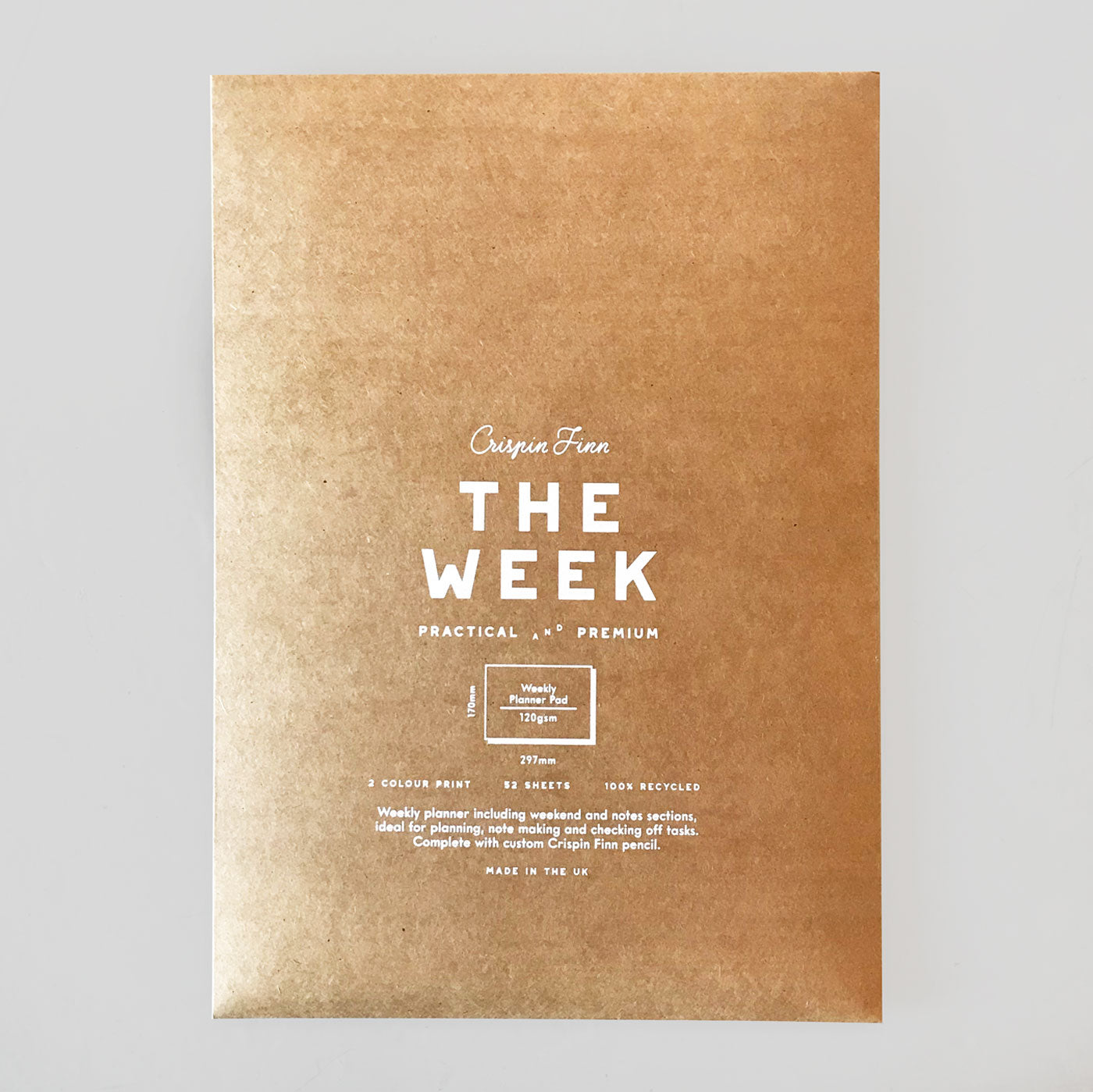 Crispin Finn 'The Week' Planner | Colours May Vary