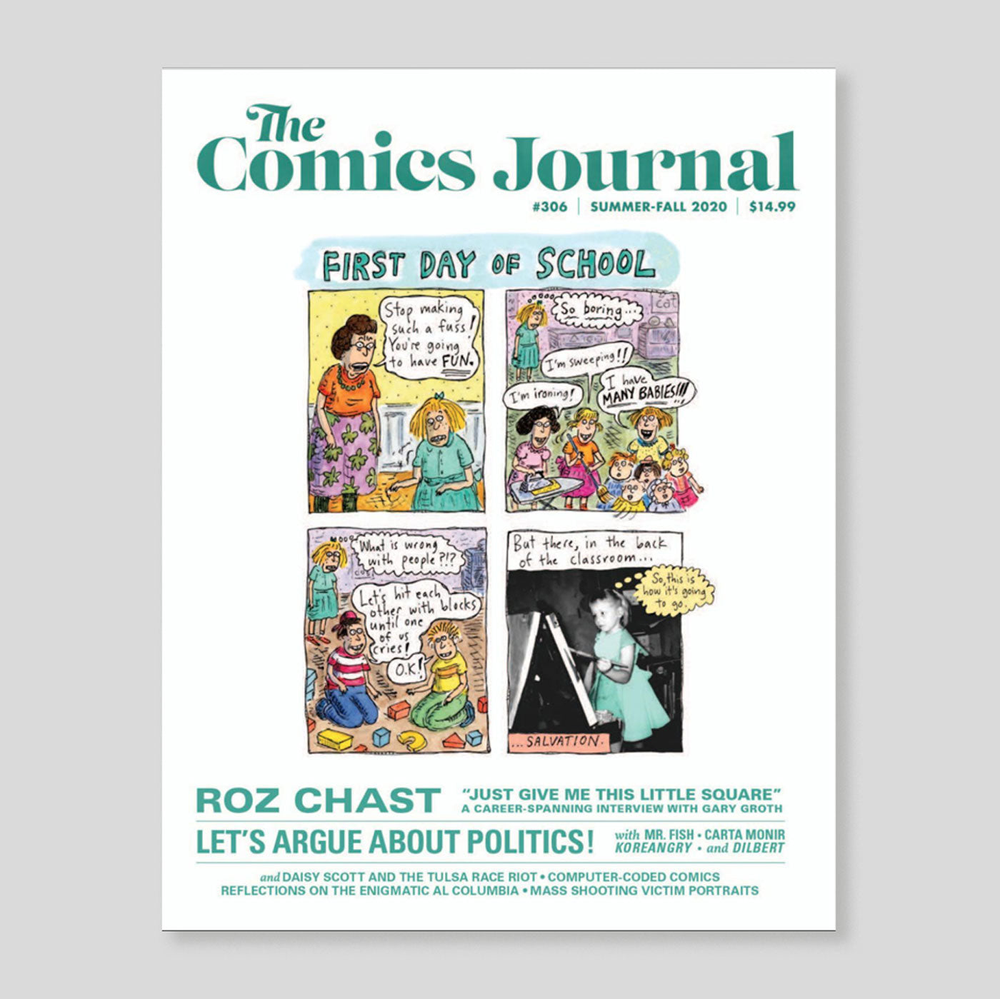 The Comics Journal #306 | 'Roz Chast' | Colours May Vary