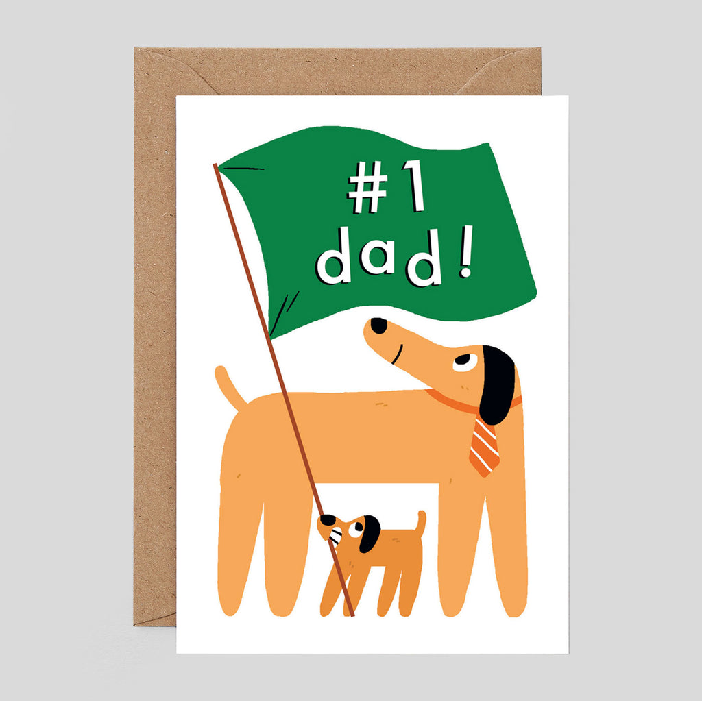 Elliot Kruszynski For Wrap - #1 Dad Card - Colours May Vary