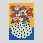 Karl-Joel Larsson for Wrap - Flowers Card | cmv