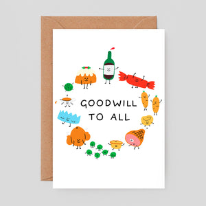 Holly St Clair For Wrap | Goodwill to All Card