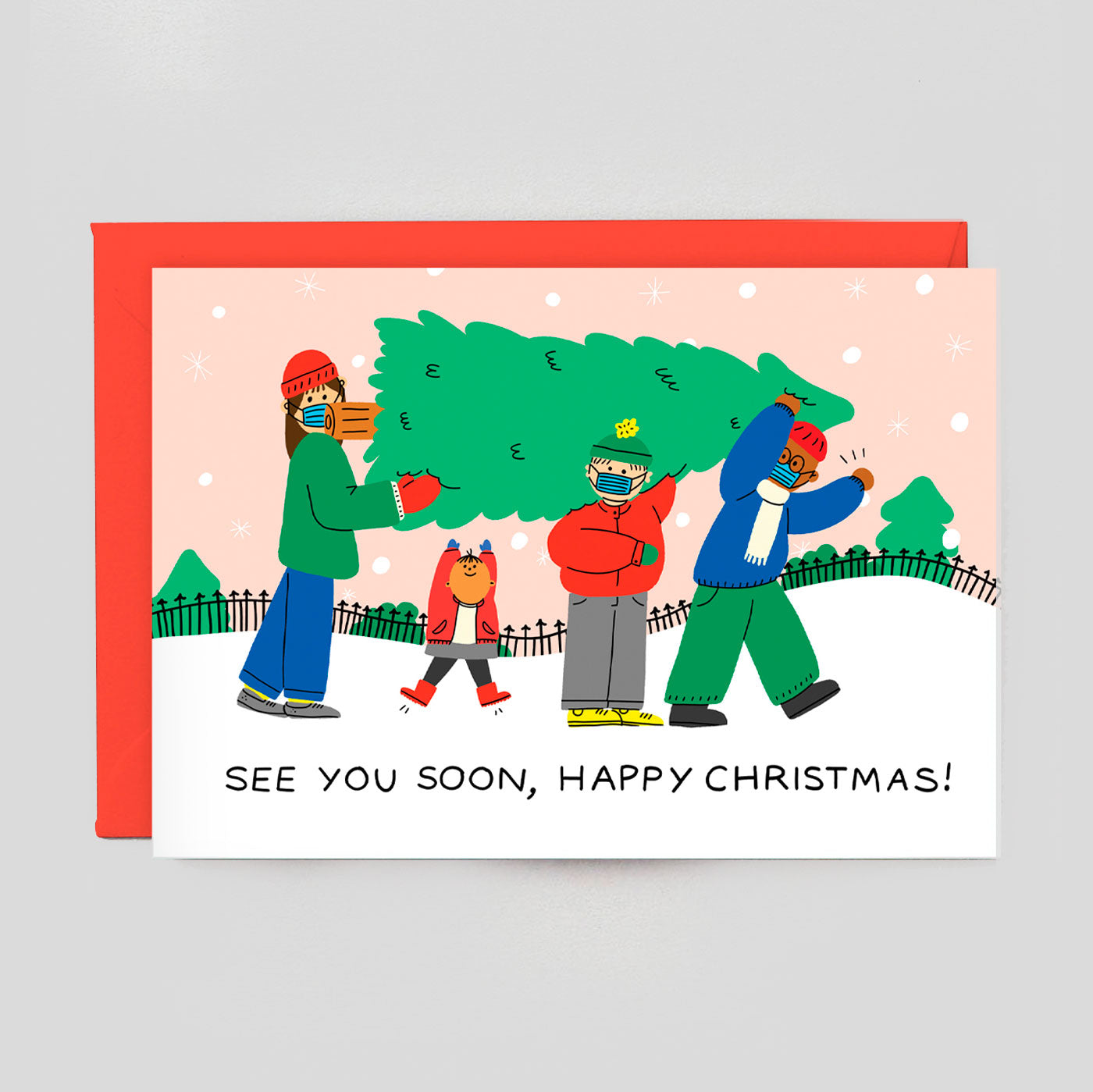 Holly St Clair For Wrap | See You Soon Card