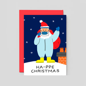 Holly St Clair For Wrap | HA-PPE Christmas! Card