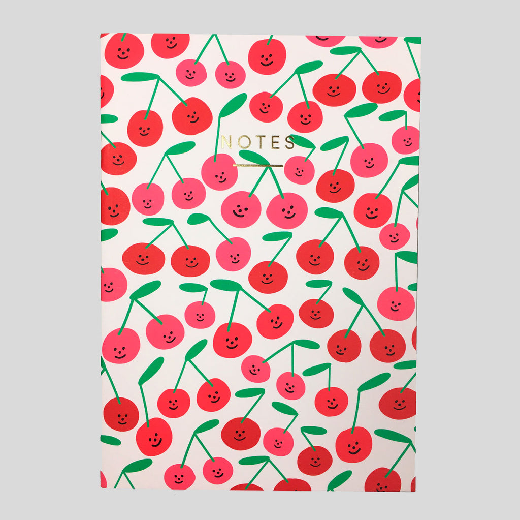 Cherries Notebook by Holly St Clair for Wrap