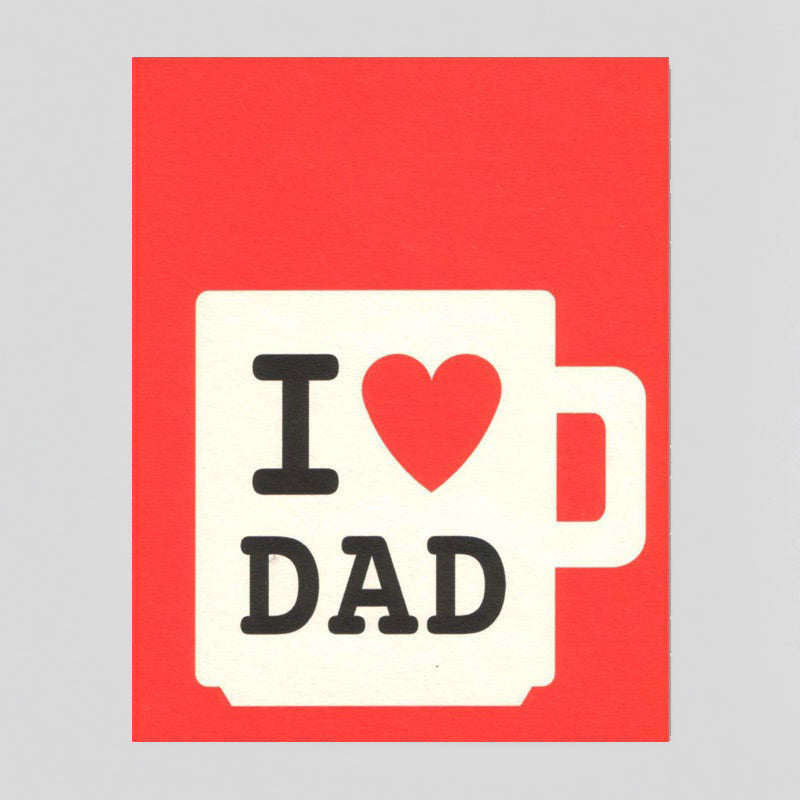 Dad Mug by Lisa Jones Studio