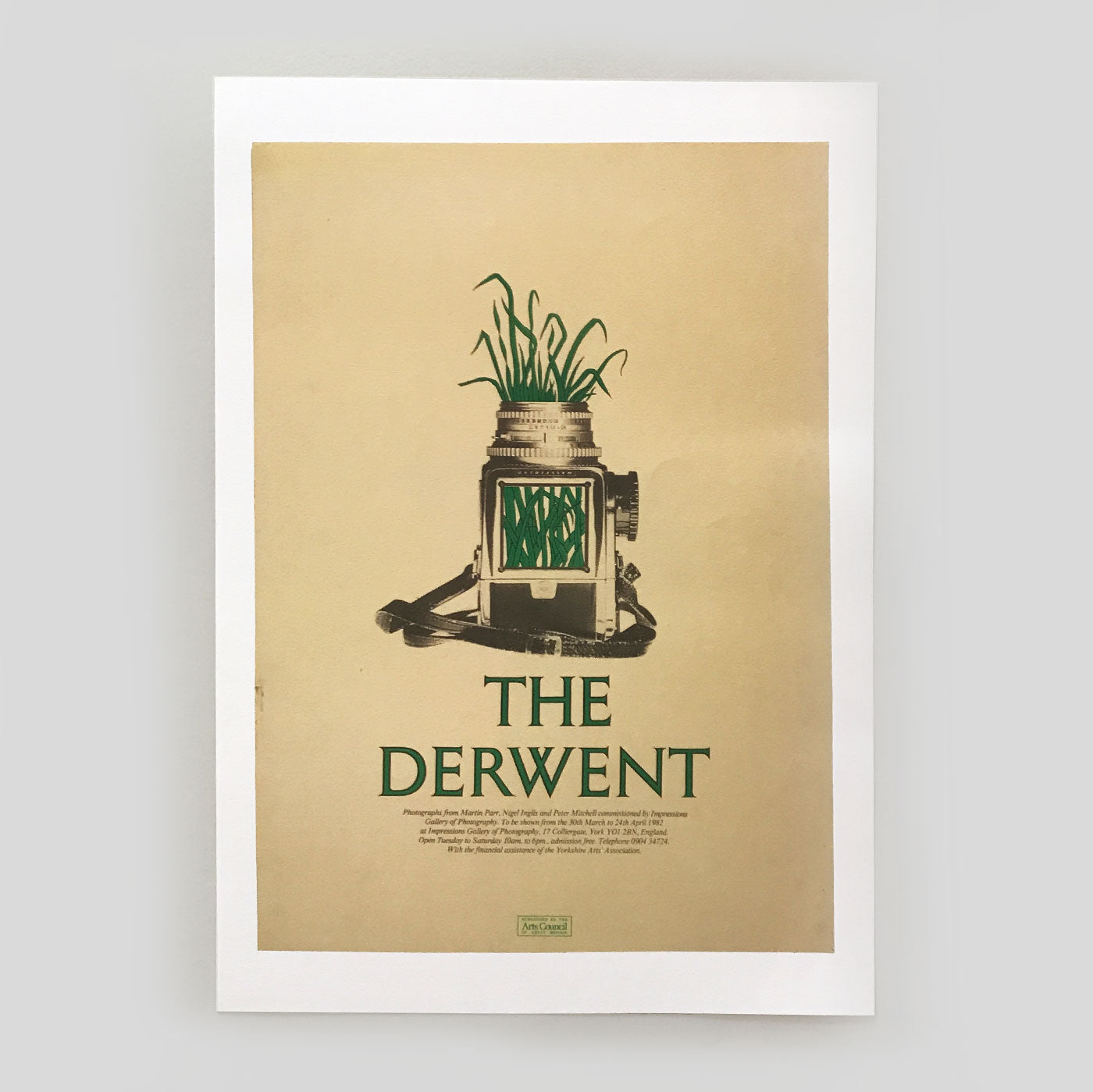 The Derwent - Exhibition Poster (A2) - Peter Mitchell