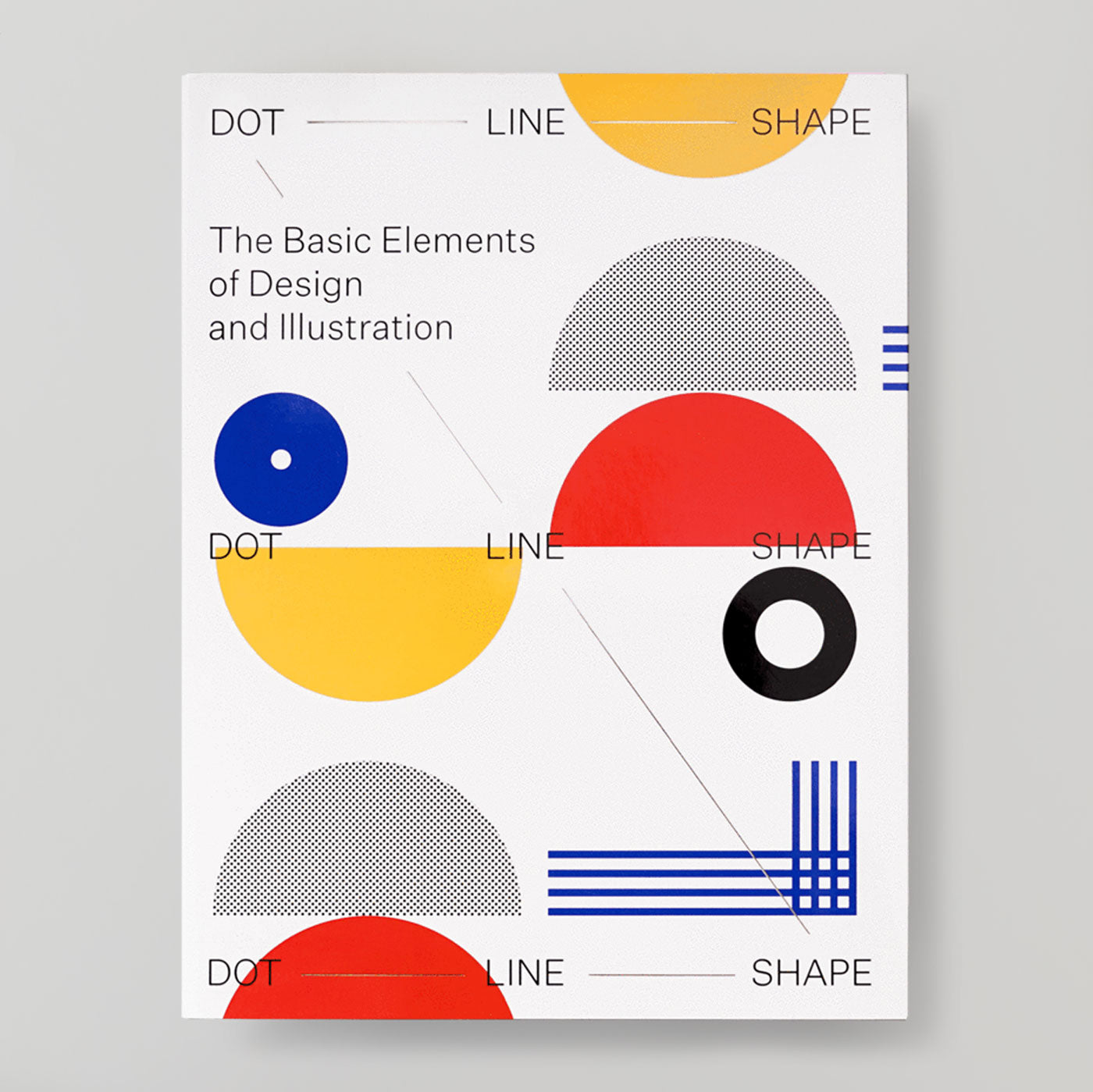 Dot Line Shape: The Basic Elements of Design & Illustration | Colours May Vary