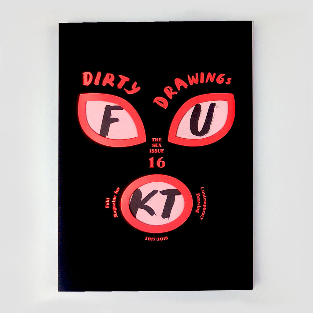 Fukt Magazine #16 The Dirty Issue - drawing