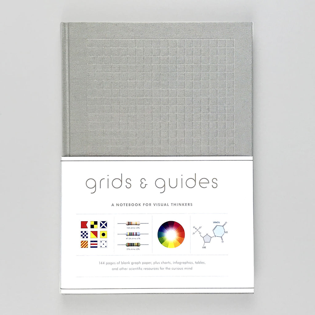 grids and guides notebook - stationery