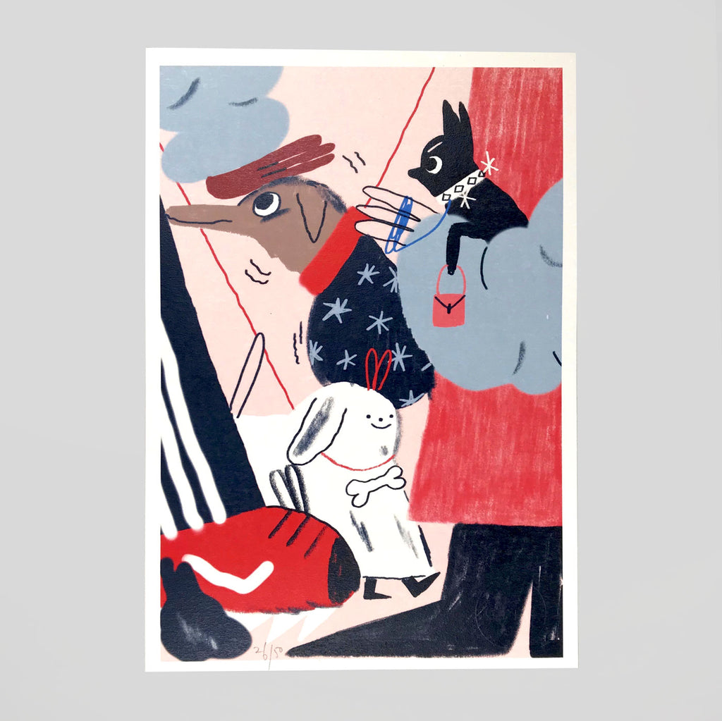 Helena Covell for Year Of The Dog '3 Good Boys'