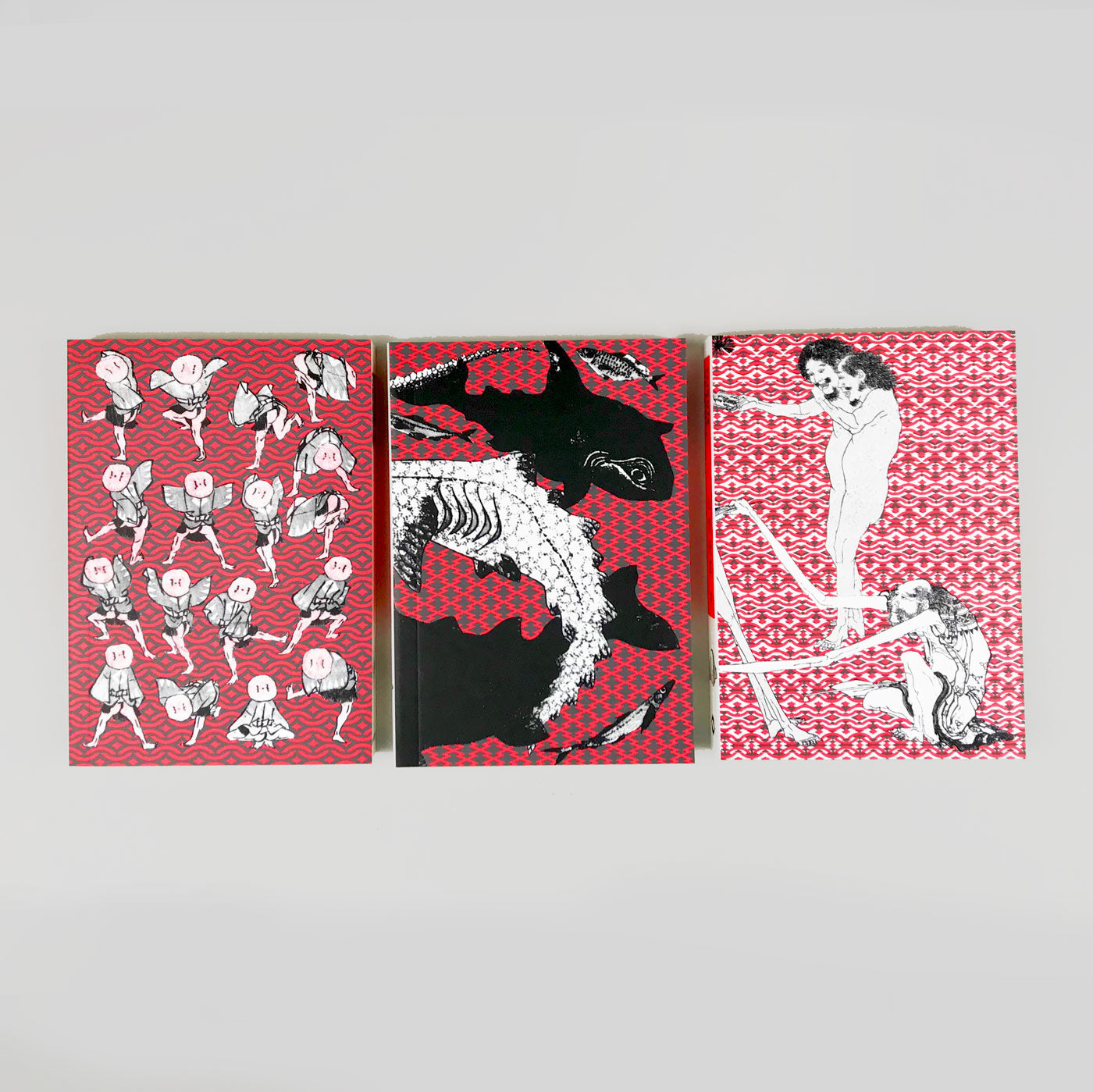 Hokusai Manga - 3 book edition