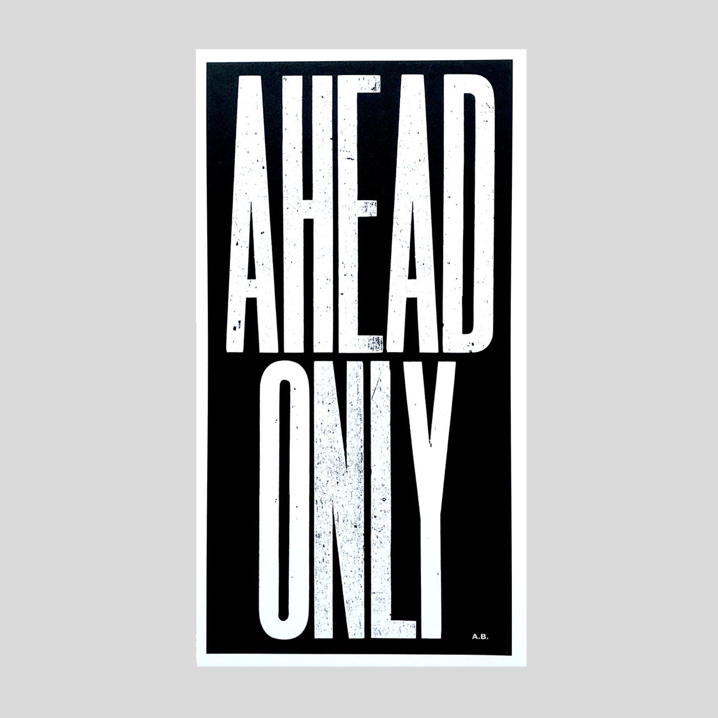 Hup Hup Hup by Anthony Burrill - Colours May Vary