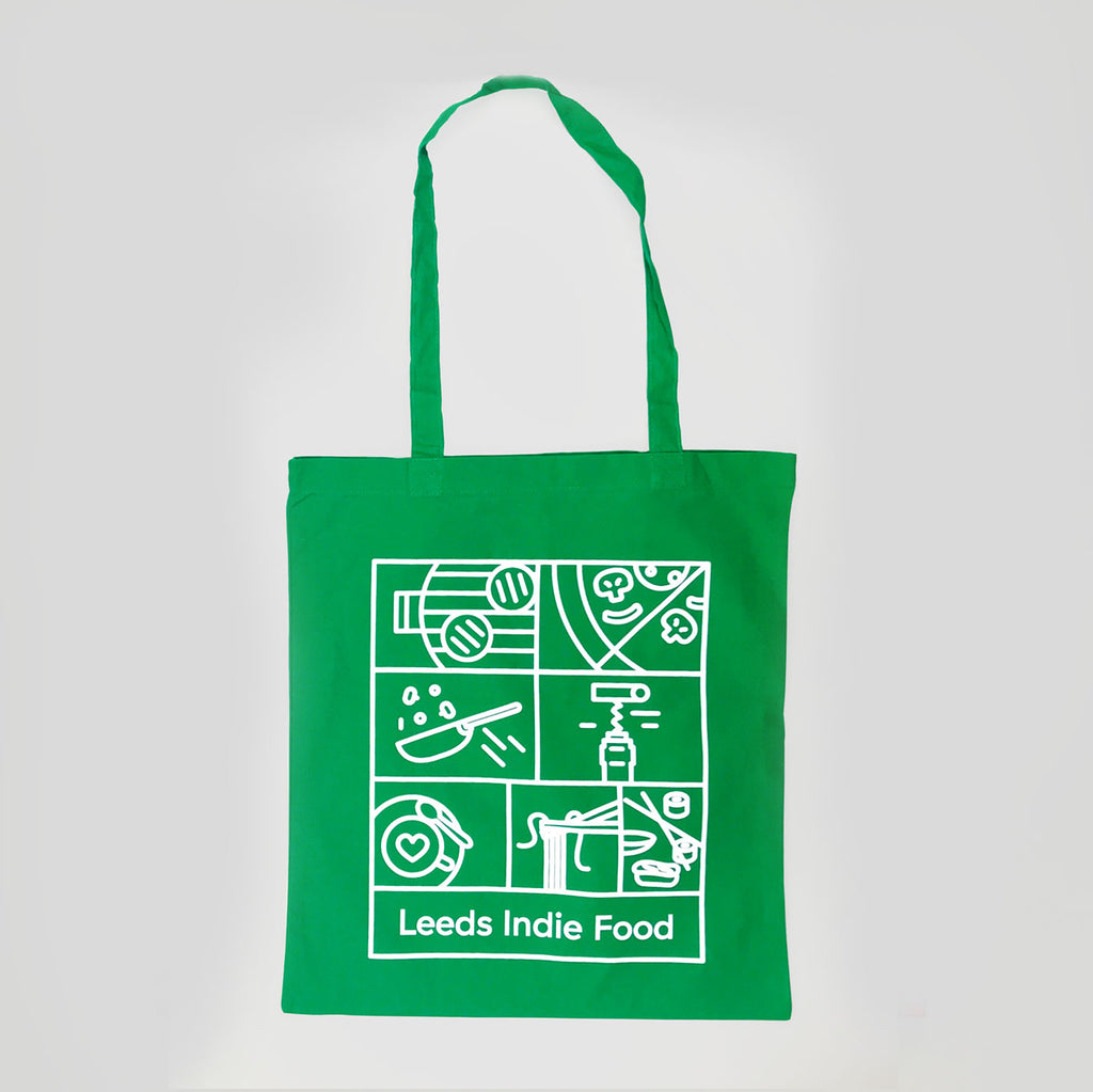 Leeds Indie Food (LIF) 2018 Tote Bag