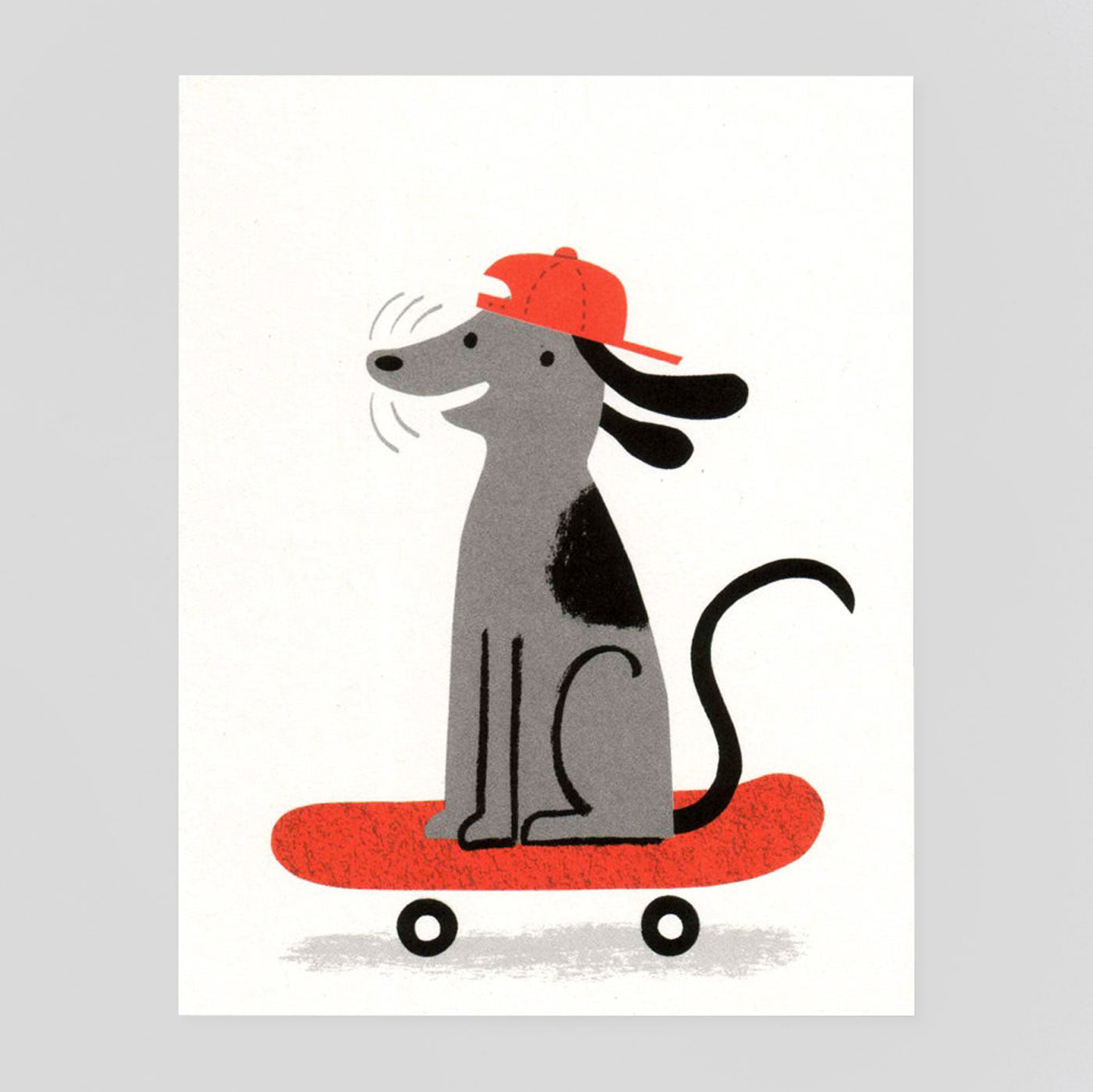 Deck Dog Card by Lisa Jones Studio - Colours May Vary