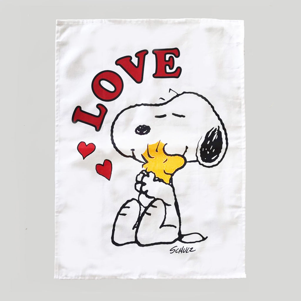 Peanuts Tea Towel - Love