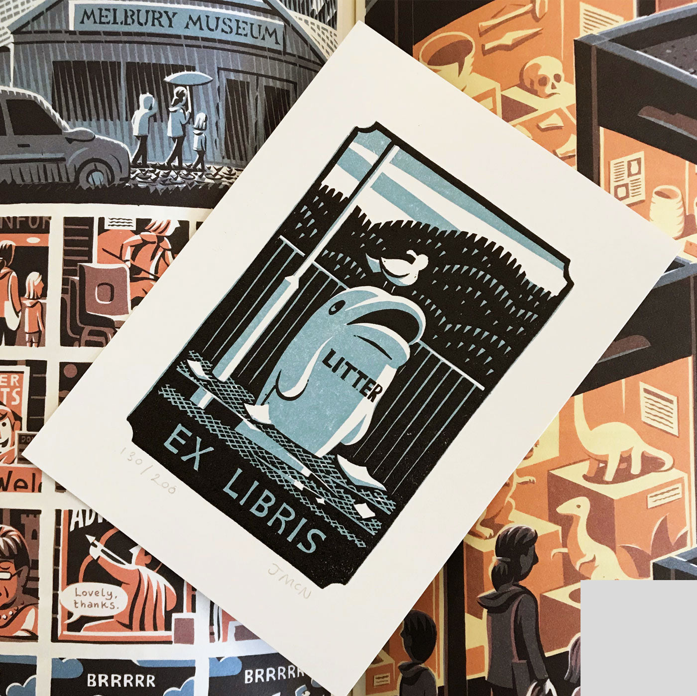 Kingdom - Jon McNaught (+ SIGNED LINOCUT BOOKPLATE!)