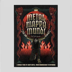 Metal Mappa Mundi | A World Tour Of Heavy Metal, From Birmingham To Botswana. | Colours May Vary