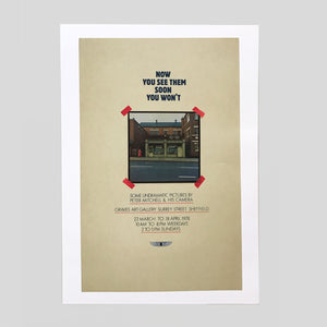 Now you see them, soon you won't - Exhibition Poster print (A2) - Peter Mitchell
