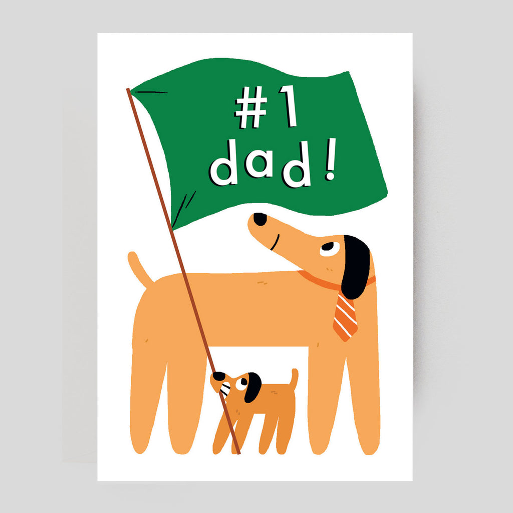 Elliot Kruszynski For Wrap - #1 Dad Card