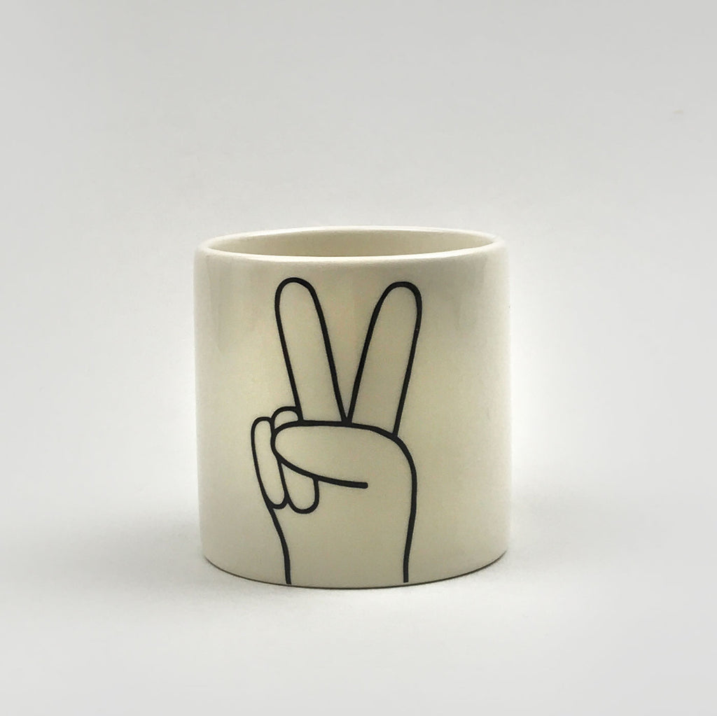 Louise Madzia Peace Pot