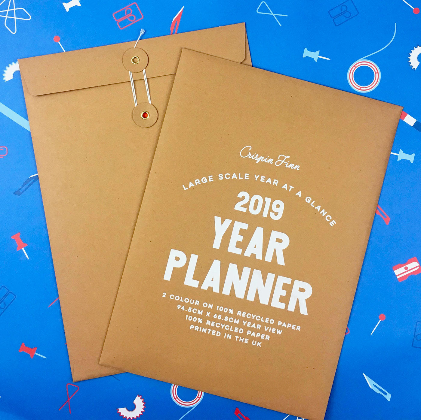 Crispin Finn Wall Planner 2019 (last few copies!)