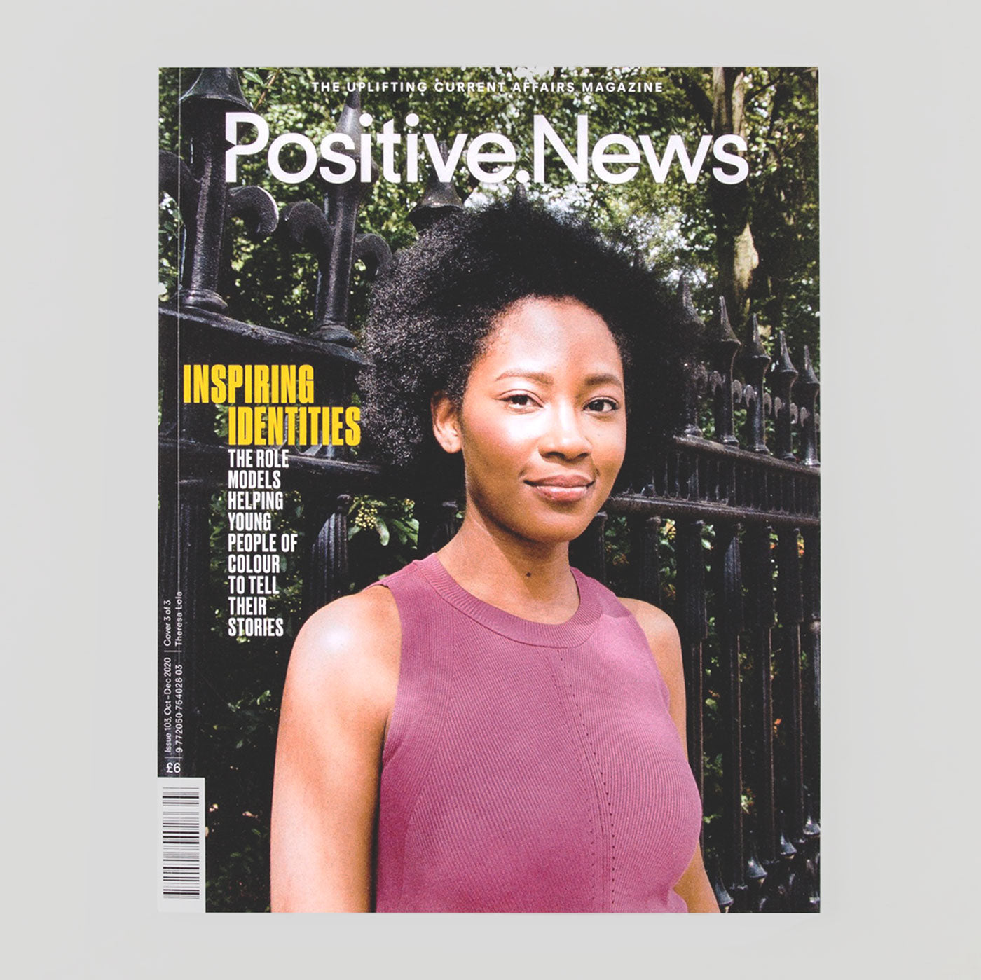 Positive News #103 'Inspiring Identities' - Colours May Vary