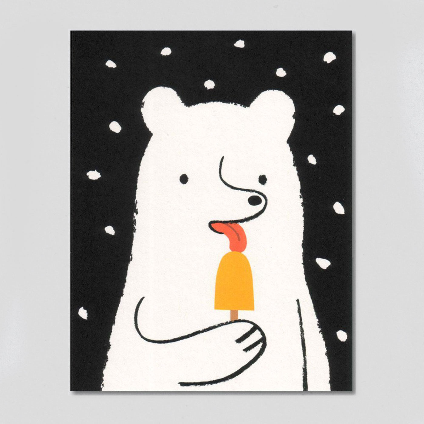 Lisa Jones 'Popsicle Bear' Card