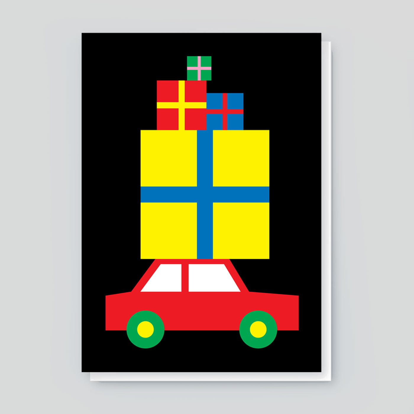 Paul Farrell 'Presents Car' Card