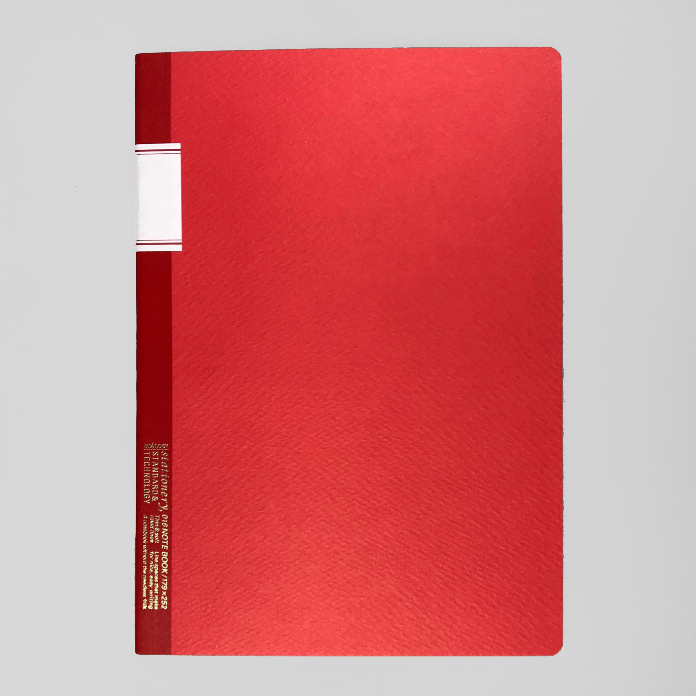 STALOGY 016 VINTAGE NOTEBOOK - RED.