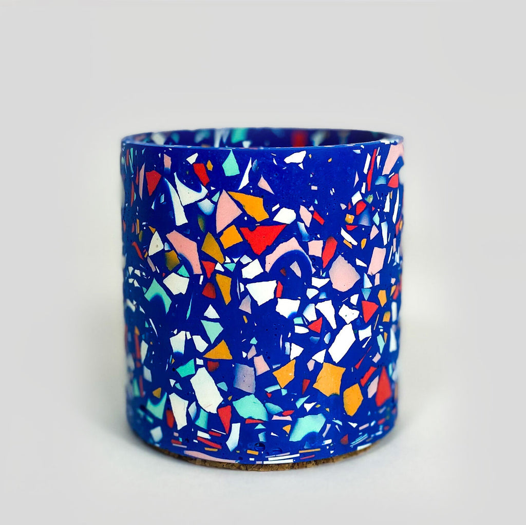 Emily Marlin Planter 'Royal Blue'