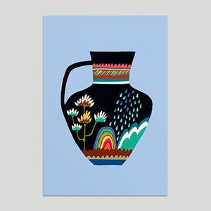 Brie Harrison - Rainbow Pot Card