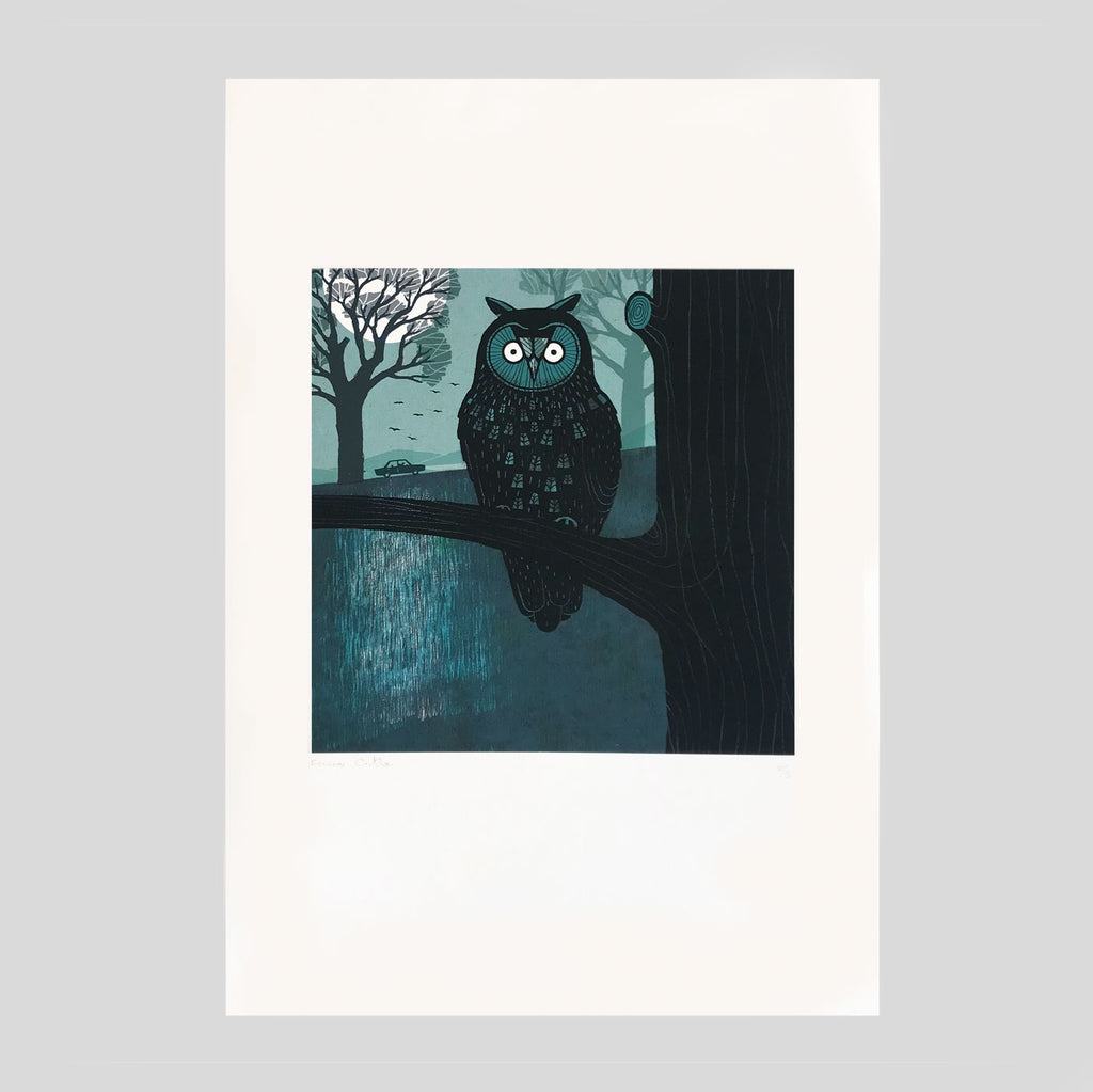 Shapwick A2 Giclee Print - Frances Castle