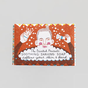 The Printed Peanut Shaving Soap.
