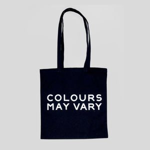 Colours May Vary Tote Bag - Black