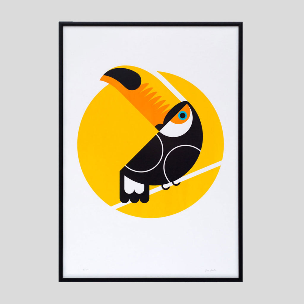 Toucan Print By The Lost Fox