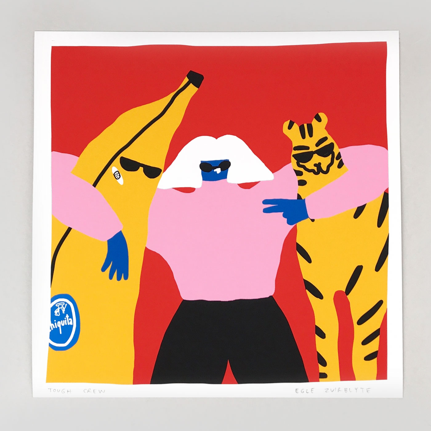 Tough Crew giclee print by Egle Zvirblyte
