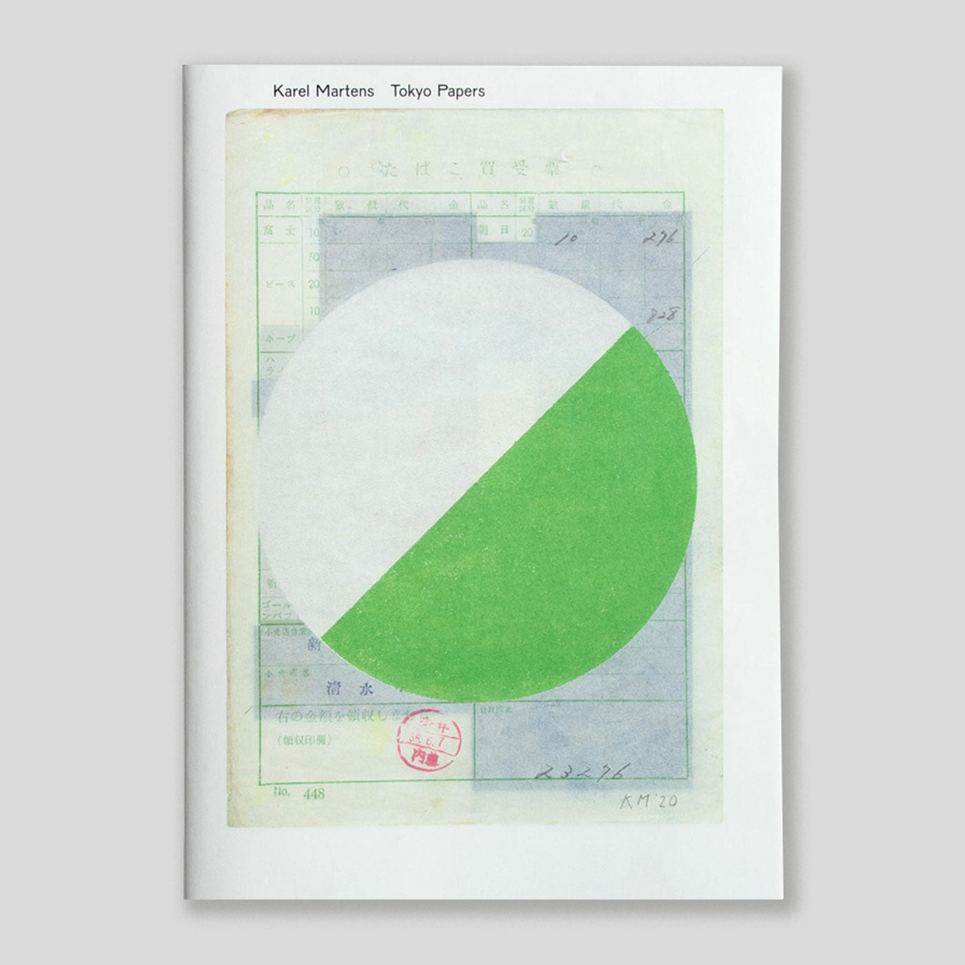 Tokyo Papers | Karel Martens | Colours May Vary