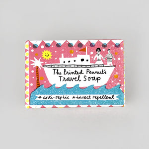 The Printed Peanut Travel Soap
