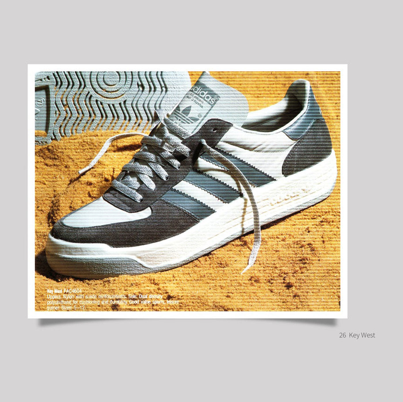Vintage Adidas Schuhe - Islands and Rest of the World - Book 3