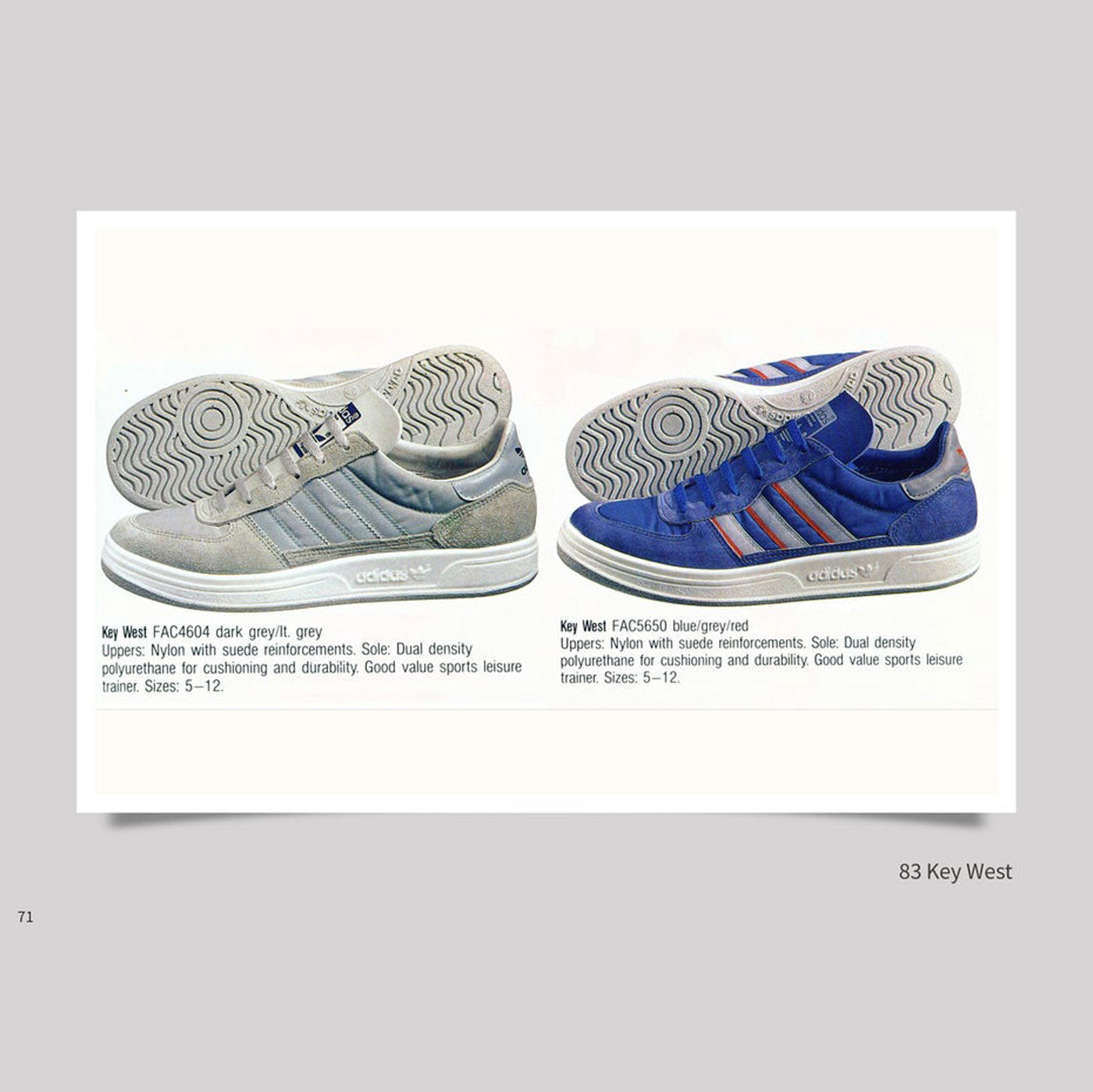 official photos 79295 566a6 Vintage Adidas Schuhe - North America - Book 2 – Colours May ...