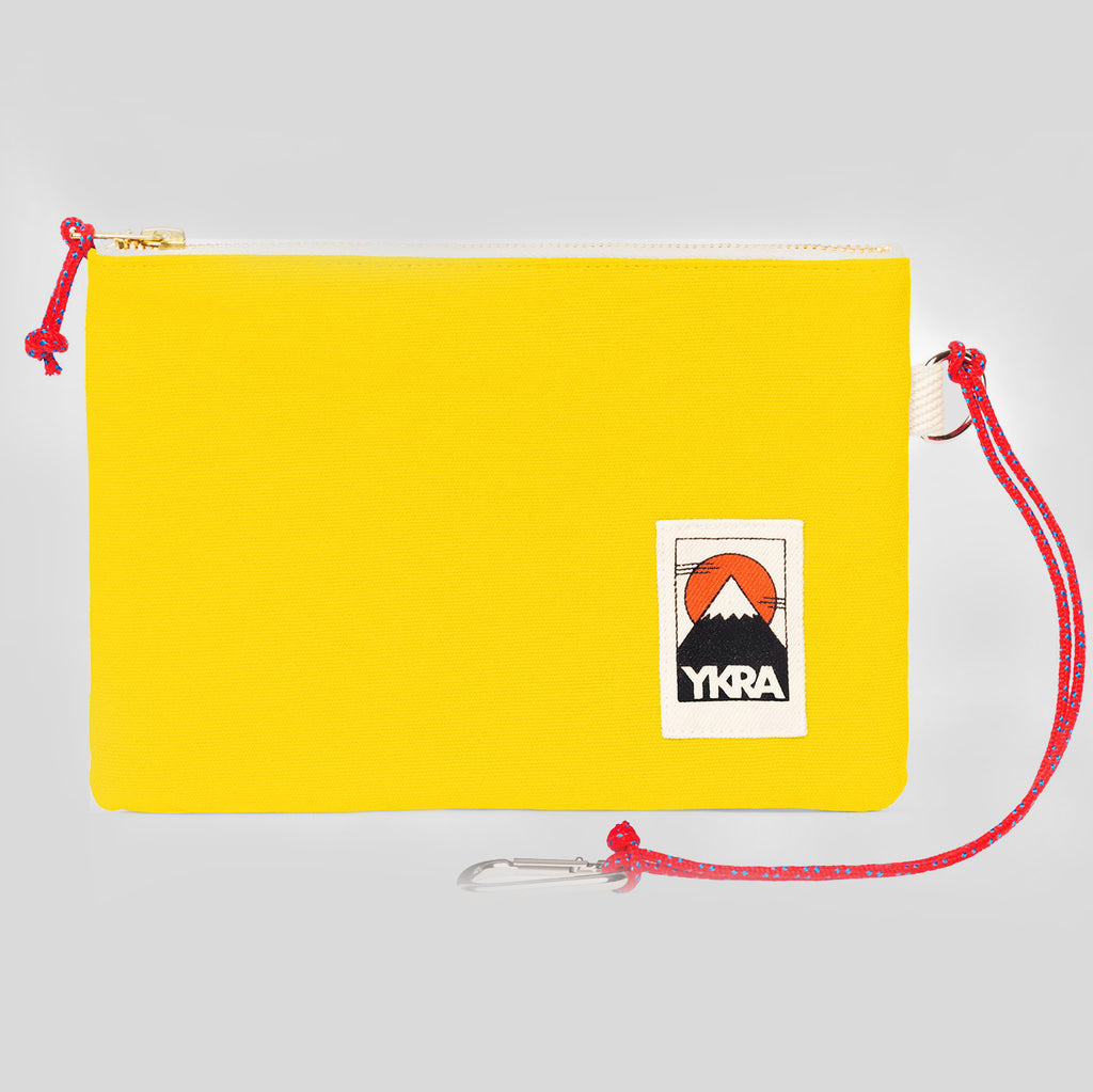 YKRA POUCH - YELLOW